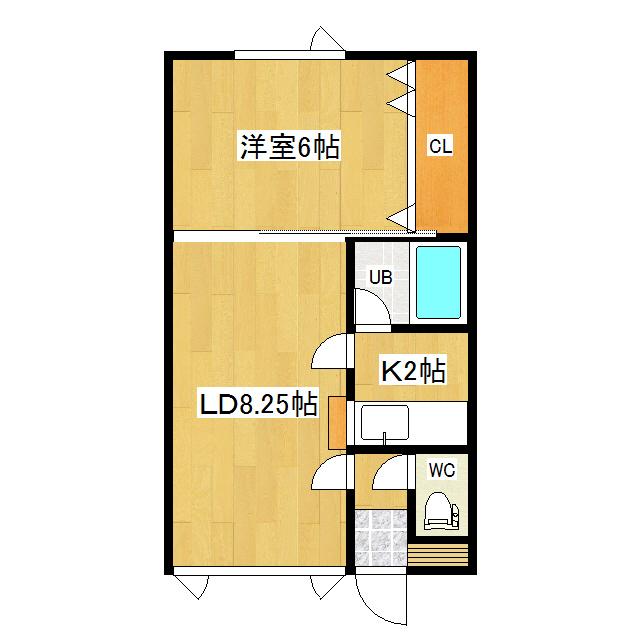 メイプルハウスA 7号室