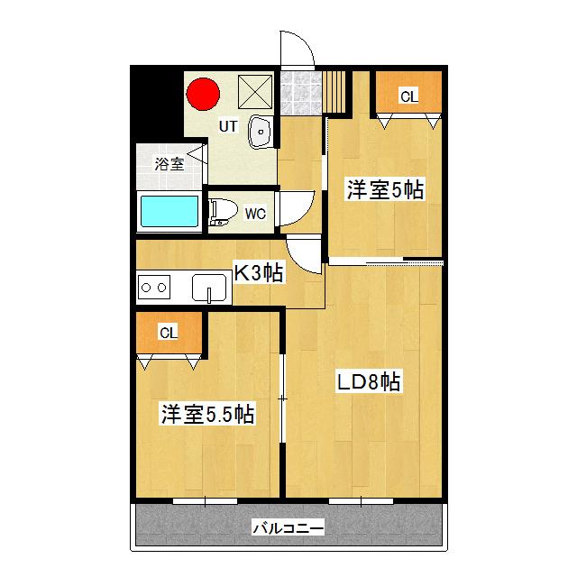 エターナルアイランドパレス 302号室