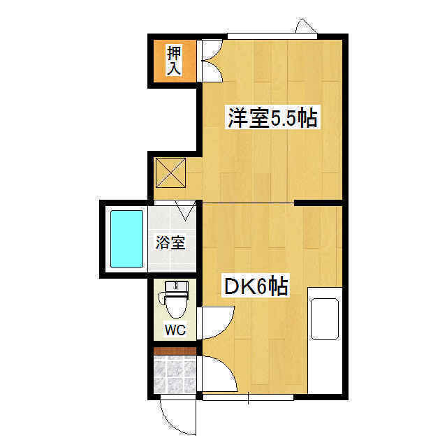 コーポ栄進堂II 1F305号室