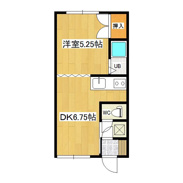 コーポ中村 1-7号室