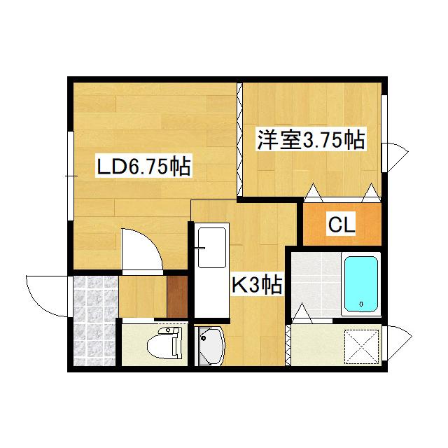 サンワハイツA 201号室