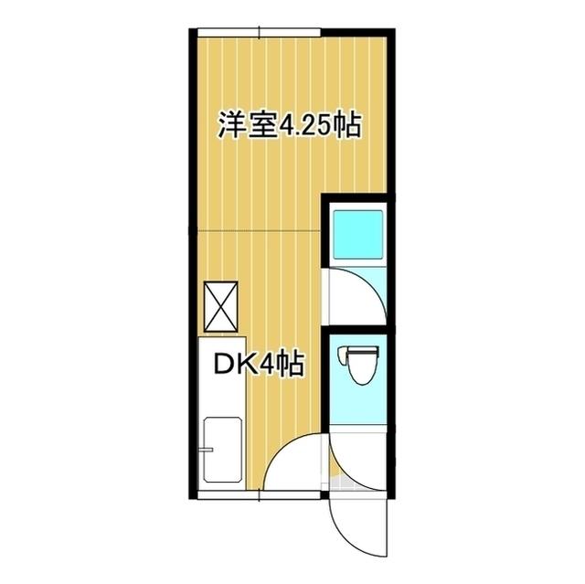 クボタハイツ 2F6号室