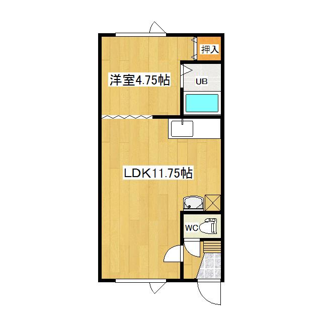 ロイヤルハイツ藤 106号室