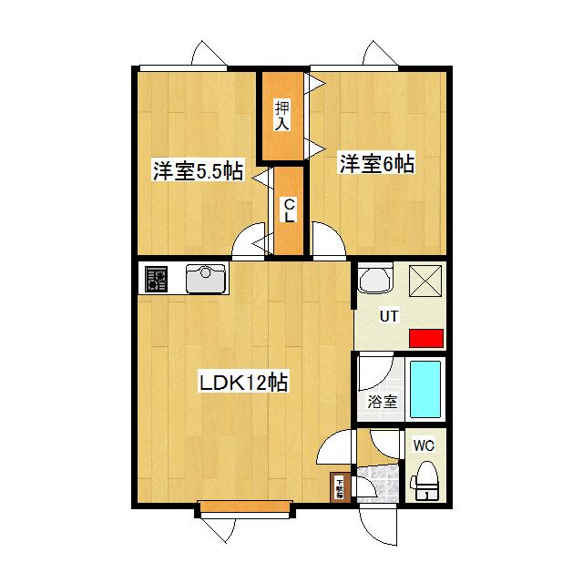 メゾンド純I 201号室