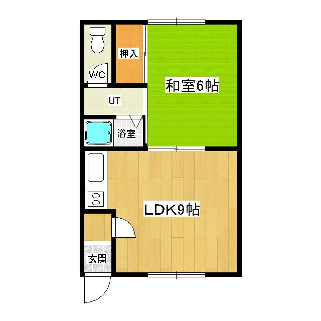 レジデンス6・6 203号室