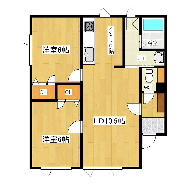 ルクソール A号室