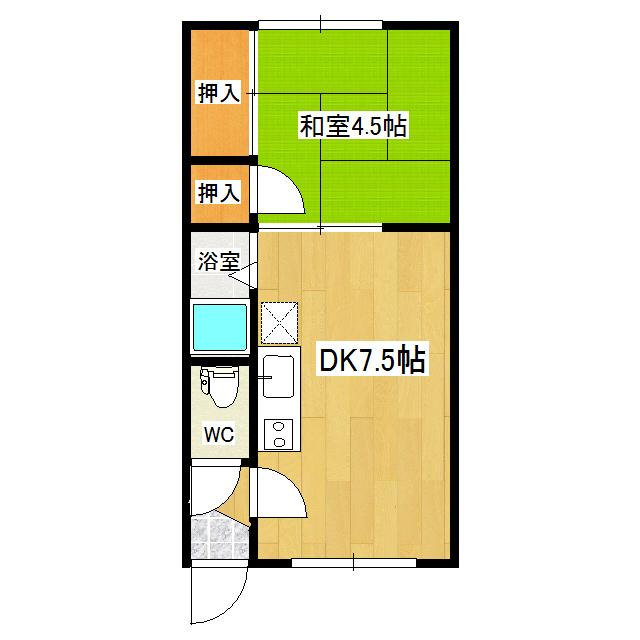コーポエルム(美山町) 3号室