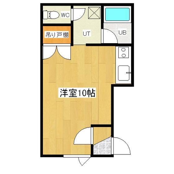 サンコートハイツB 205号室