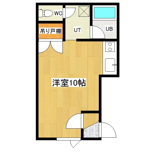 サンコートハイツB 206号室