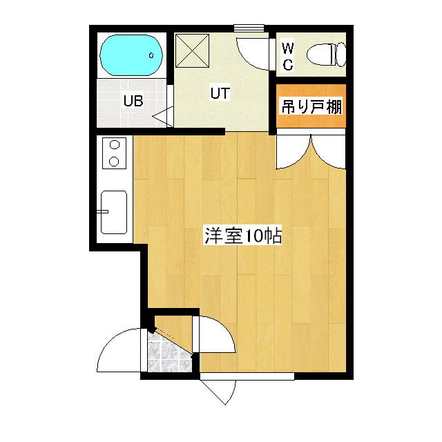 サンコートハイツB 107号室