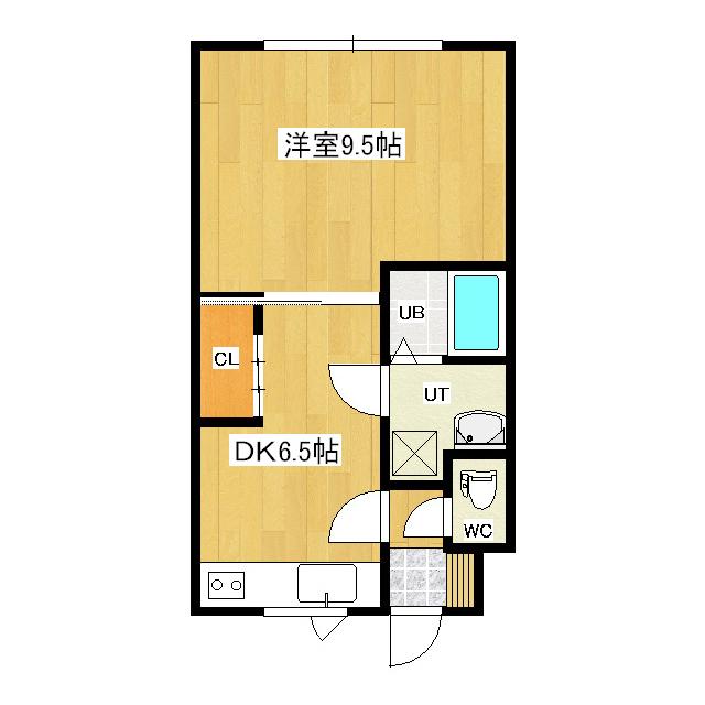 ハイムホクシン 1-2号室