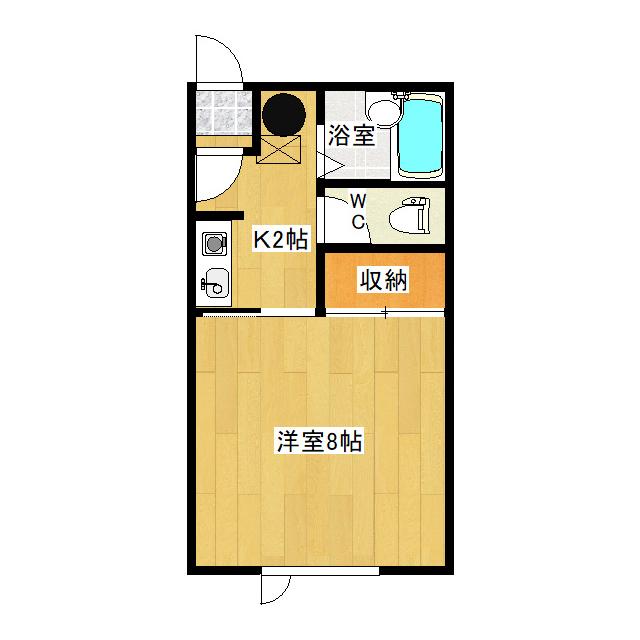 イナダマンション 2-D号室
