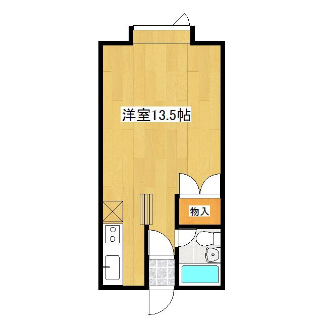 ハウスU2 102号室