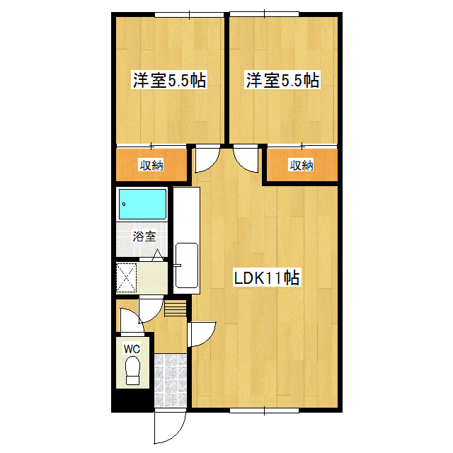 クリーンハイツ 2F5号室