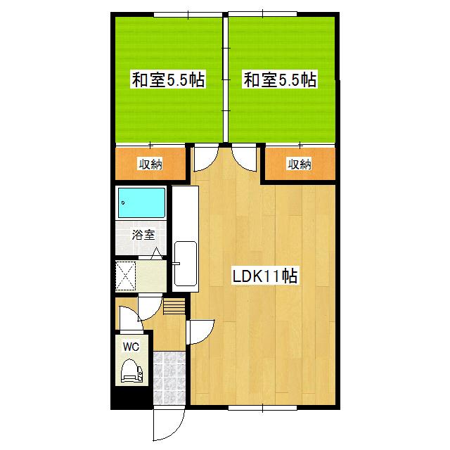 クリーンハイツ 2F7号室