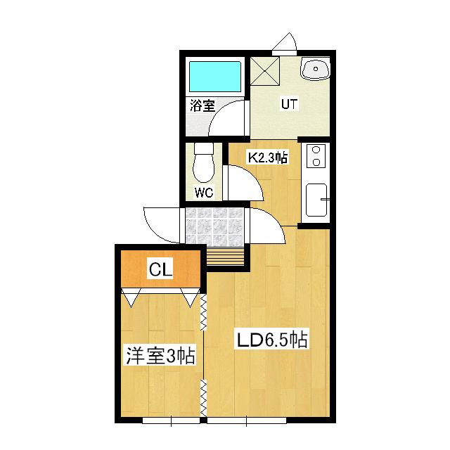 春光町貸アパート 201号室