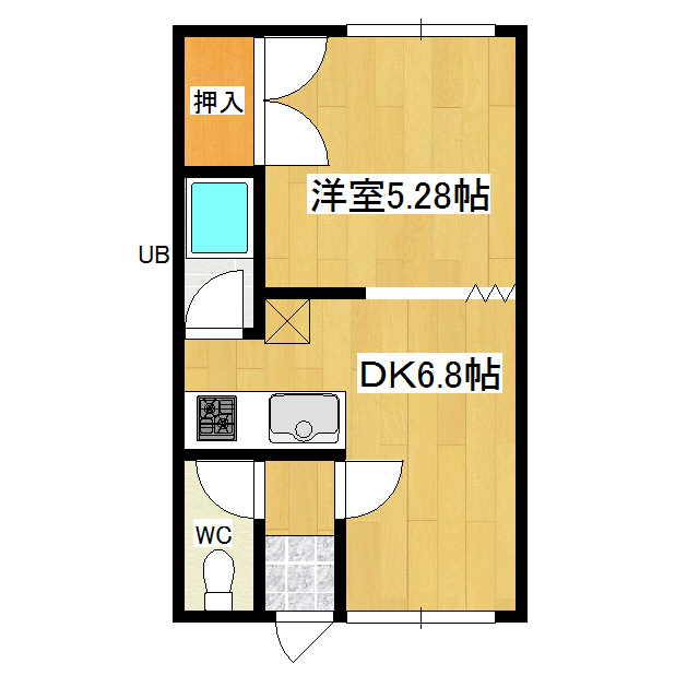 西富誠幸マンション 203号室