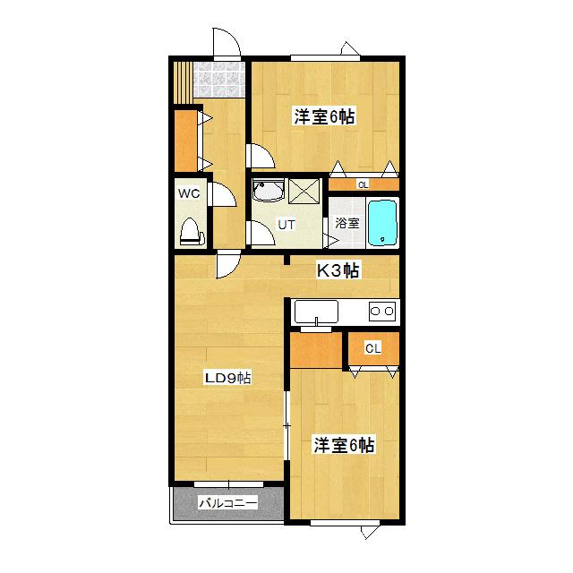 パリストマンション 3-B号室