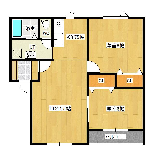 ハイツ誠 102号室