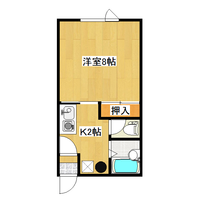 MS.Joy 1-E号室