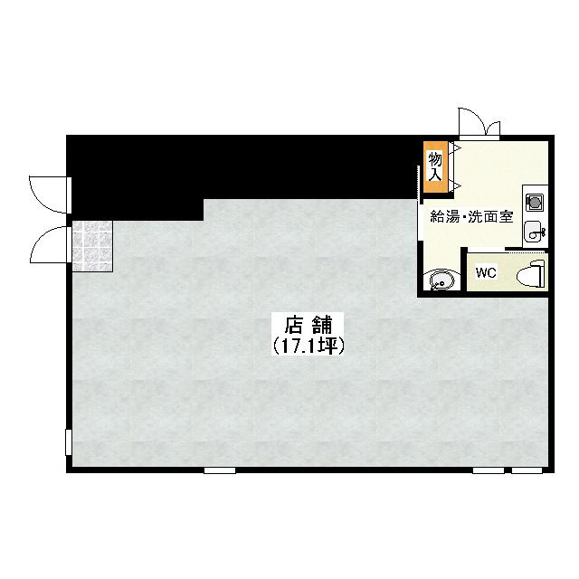 MB(モダンボックス) 1F号室