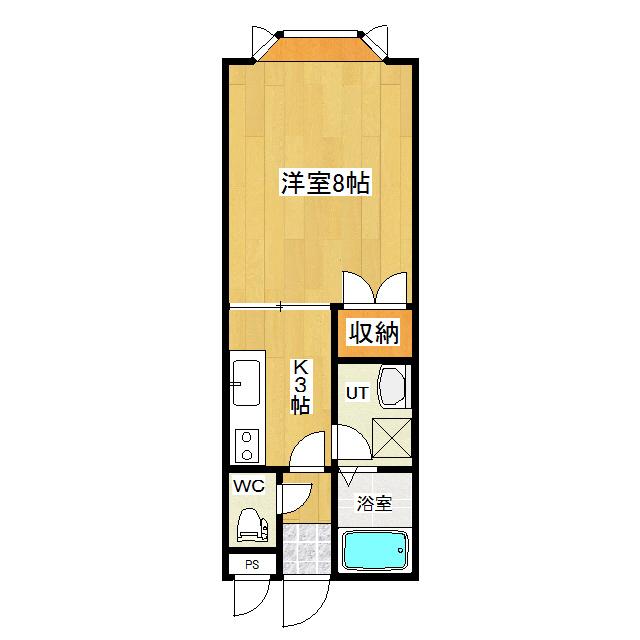 エデン泉町壱番館 106号室