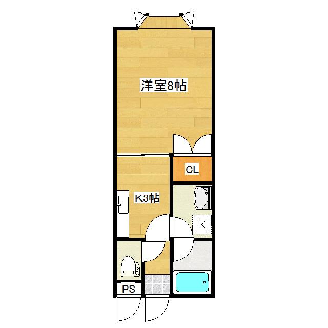 リバティーハウス 106号室