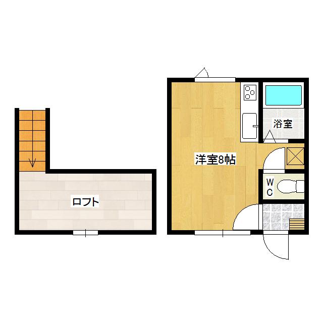メゾンドK1 206号室