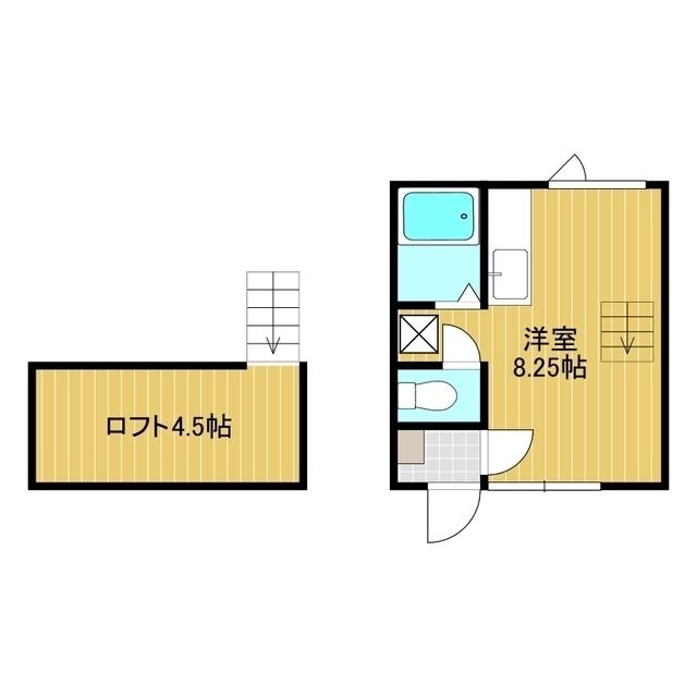 メゾンドK2 208号室