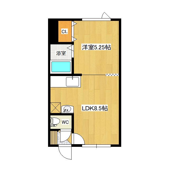 吉野ハイツ5 106号室