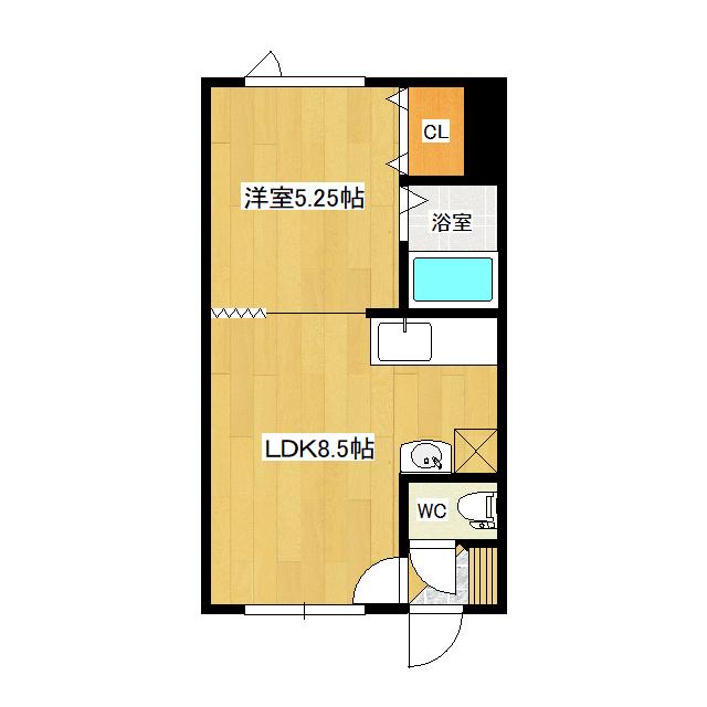 吉野ハイツ5 105号室