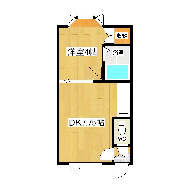夕陽ヶ丘ハイツ2 105号室
