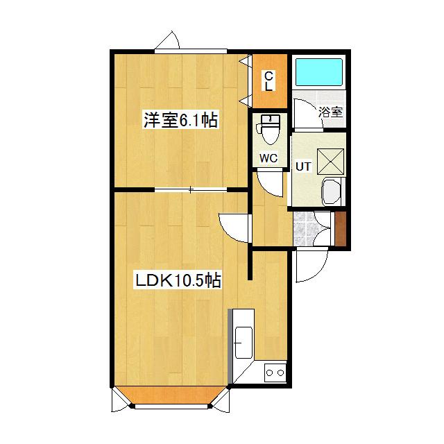 アスリート 1-C号室
