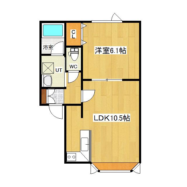 アスリート 1-F号室