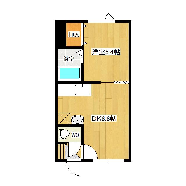 サンリバーハイツ 206号室