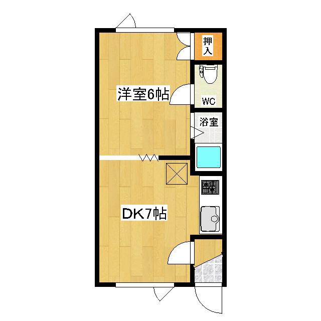 第1日研ハイツ 107号室