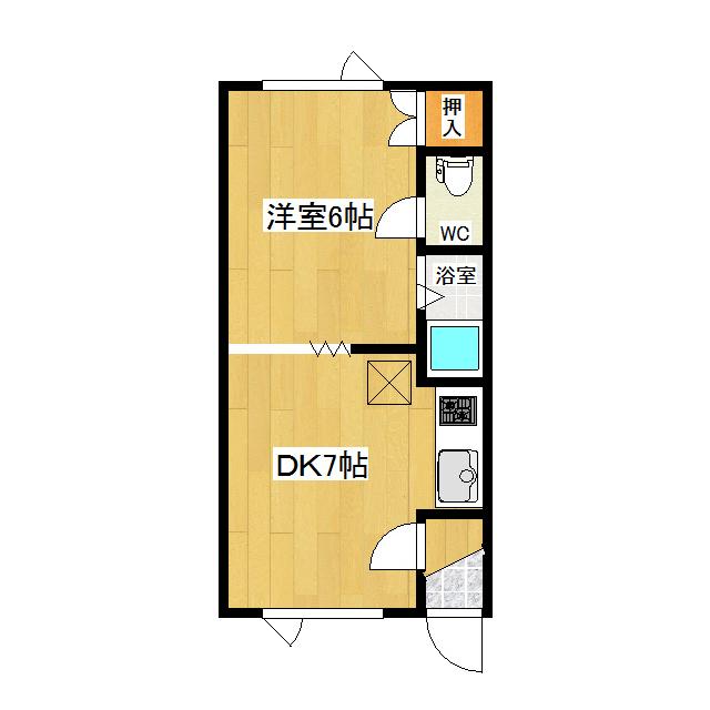 第1日研ハイツ 201号室