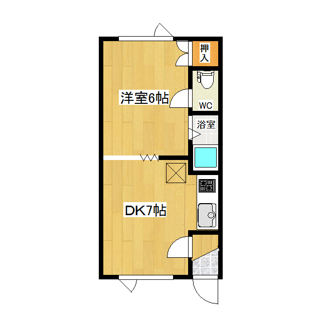 第1日研ハイツ 206号室