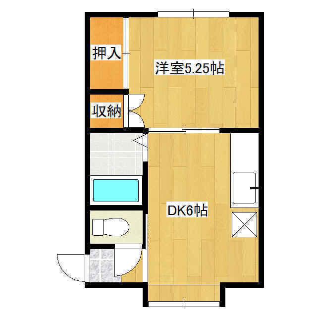 第3日研ハイツ 03号室