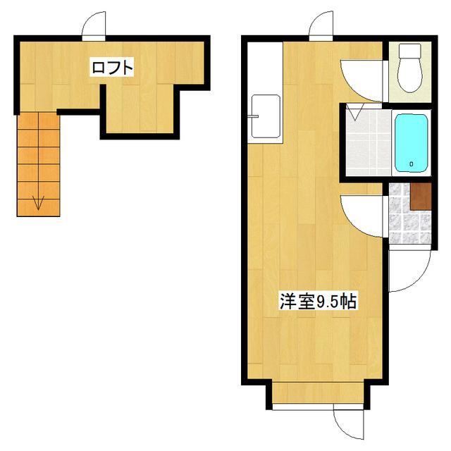 メゾンドKIII 206号室