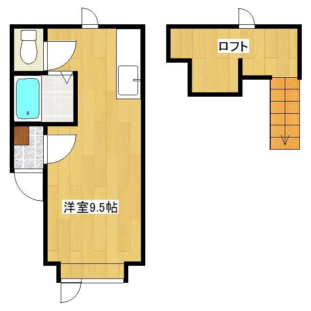 メゾンドKIII 207号室