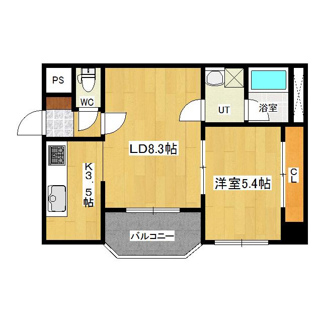 アーバンハイツ 301号室