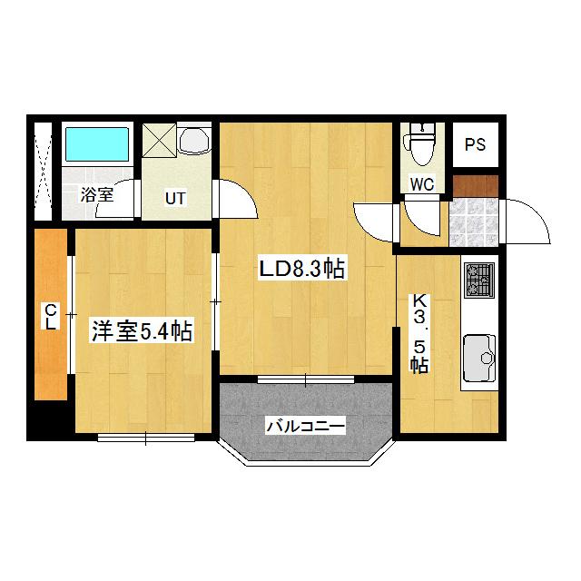 アーバンハイツ 403号室