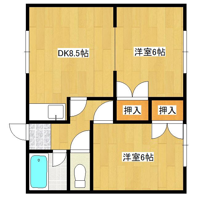 佐呂間ハイツ 2-3号室