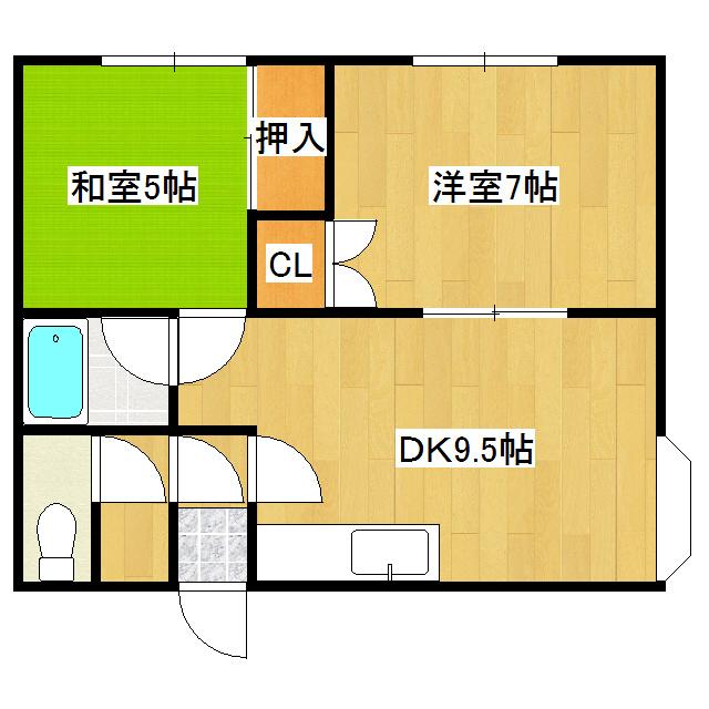佐呂間ハイツ 1-0号室