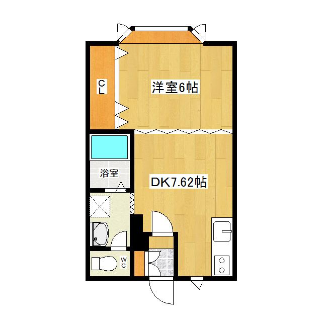 サンデープレース46 203号室