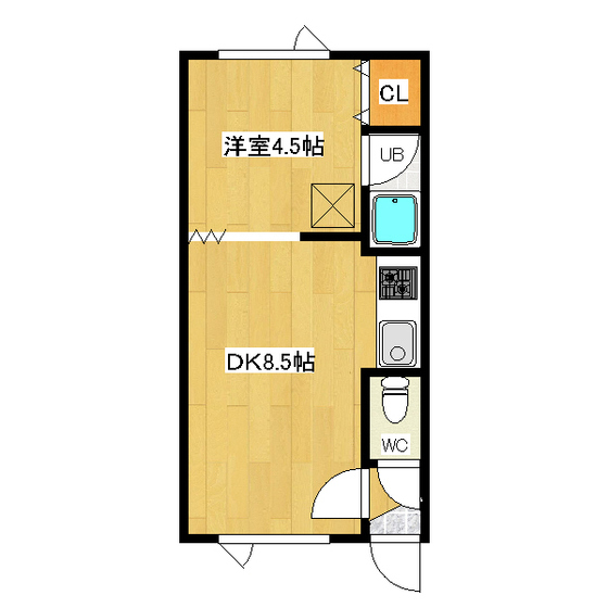 メゾン三寶 102号室