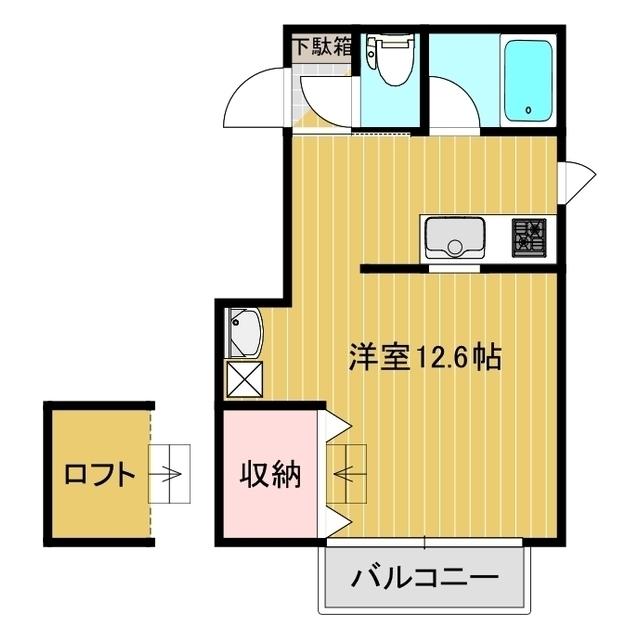 K・FLAT 1-B号室