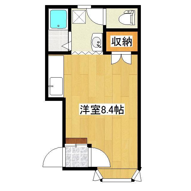 博ハイツ 2-3号室