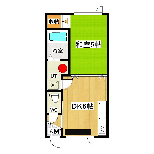 パークサイドヒルII 1F2号室